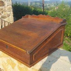 Antigüedades: ESCRITORIO ROBLE. Lote 97382715
