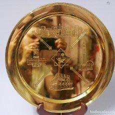 Antigüedades: PLATO EN PLATA LEY MARCADO CON CONTRASTE 925. Lote 97388111