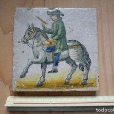 Antigüedades: AZULEJO O RAJOLA DE ARTES Y OFICIOS, REPRODUCCIÓN . Lote 97422111