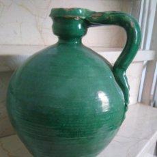 Antigüedades: CÁNTARO DE CERÁMICA DE TRIANA. 26 CM DE ALTURA.. Lote 97423875