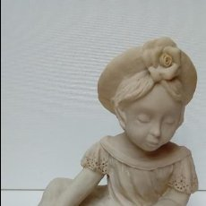 Antigüedades: FIGURA DE MARMOLINA-. Lote 97424083
