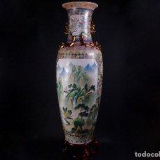 Antigüedades: PORCELANA CHINA, GRAN JARRÓN. Lote 97427611