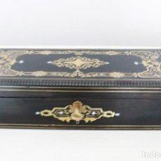 Antigüedades - Caja de guantes Napoleón III. S. XIX - 97445291