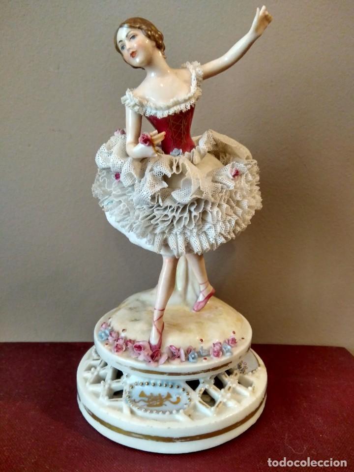 Antigua figura de porcelana bailarina marca e comprar for Marcas de porcelana