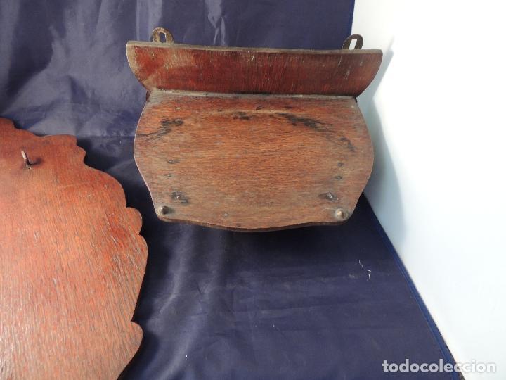 Antigüedades: FILTRO COMPLETO ANTIGUO DE PORCELANA CON SOPORTE - Foto 12 - 97452223