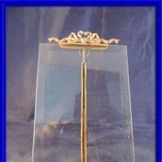 Antigüedades: MARCO ANTIGUO PORTAFOTOS CON EL CRISTAL BISELADO 16,5 X 11 CM. Lote 97451635