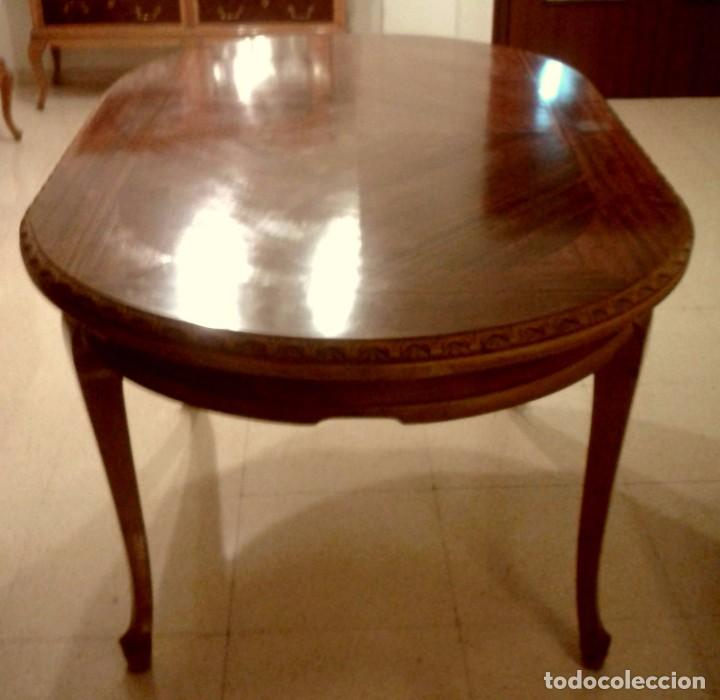 mesa comedor ovalada - estilo chippendale - 150 - Comprar Mesas ...