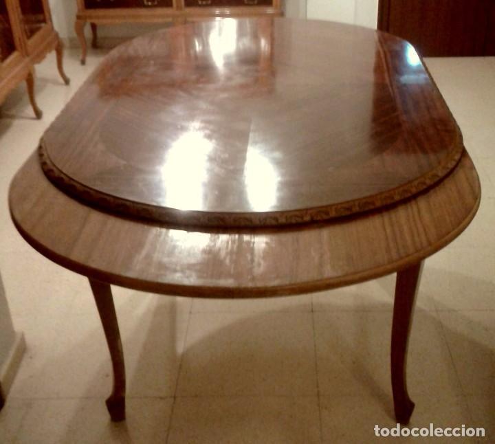 mesa comedor ovalada - estilo chippendale - 150 - Kaufen Antike ...
