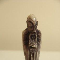 Antigüedades: TALLA DE ALABASTRO 17,5 CM DE ALTURA. Lote 97479595