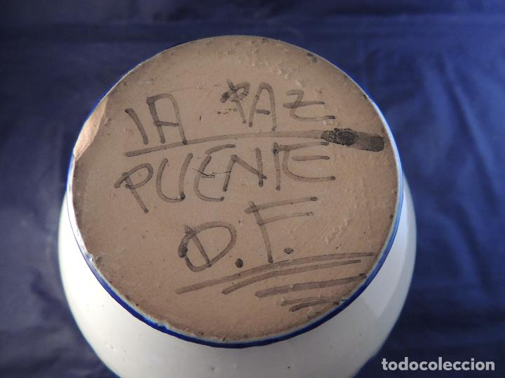 Antigüedades: JARRA CERAMICA PUENTE DEL ARZOBISPO - Foto 6 - 97510363