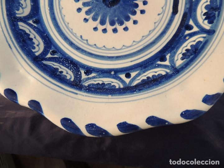 Antigüedades: PLATO DE CERAMICA EL CARMEN DE TALAVERA PERFECTO ESTADO - Foto 4 - 97512367
