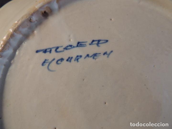 Antigüedades: PLATO DE CERAMICA EL CARMEN DE TALAVERA PERFECTO ESTADO - Foto 6 - 97512367
