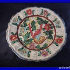 Antigüedades: PLATO CERAMICA ITALIANA DERUTA PERFECTO ESTADO. Lote 97509907