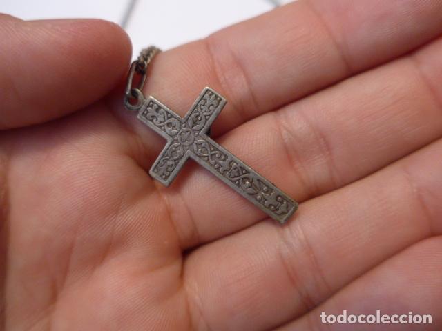Antigüedades: * Lote 2 antiguo rosario de plata, rosarios originales. ZX - Foto 3 - 97523891