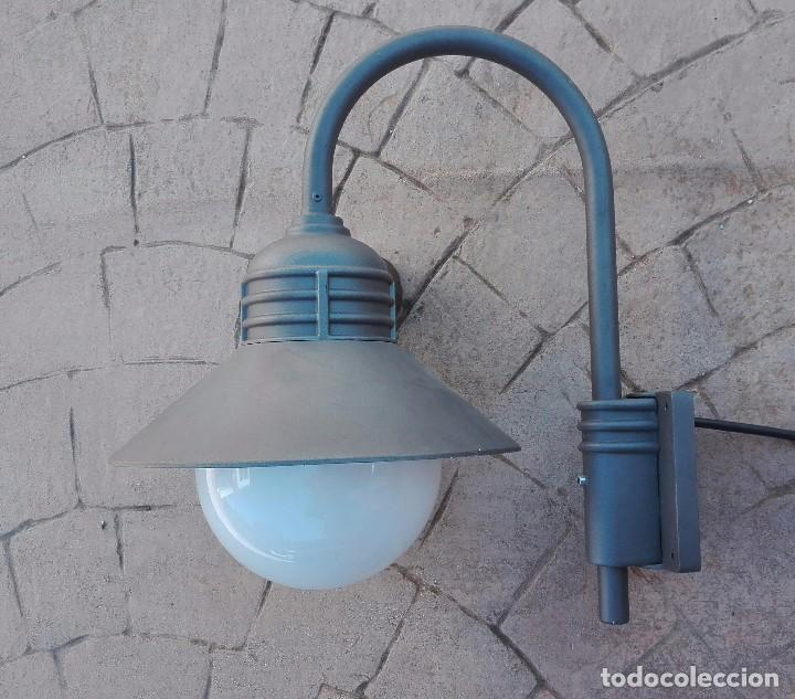 Antigüedades: Farol noral Ibérica modelo nova III aluminio puro fundido - Foto 2 - 97534215