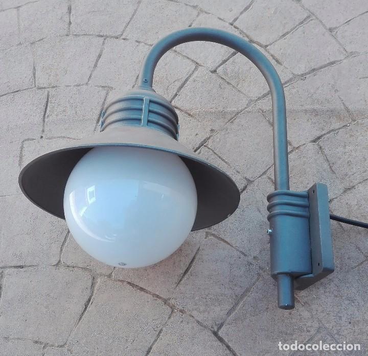 Antigüedades: Farol noral Ibérica modelo nova III aluminio puro fundido - Foto 3 - 97534215