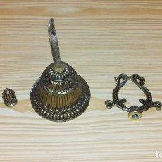 Antigüedades: LOTE DE PIEZAS,REPUESTOS PARA LAMPARA.CALAMINA.. Lote 97536643