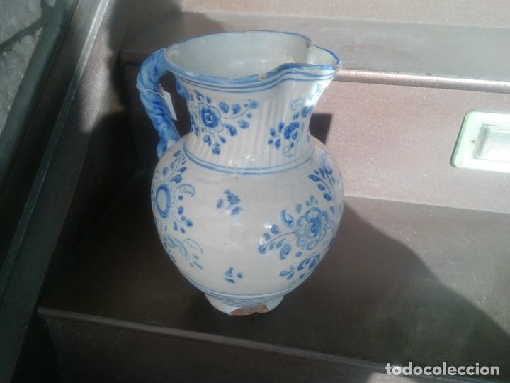 JARRA DE NIVEIRO PP.S.XX (Antigüedades - Porcelanas y Cerámicas - Talavera)