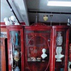 Antigüedades: VITRINA INGLESA -. Lote 97560731