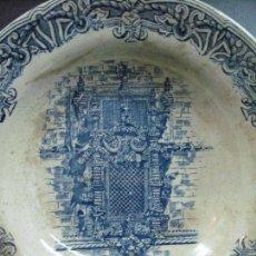Antigüedades: CERAMICA SIGLO XIX GILMAN & CIA SACAVEM PORTUGAL ESTILO MANUELINO CONVENTO DE CRISTO TOMAR. Lote 97563459