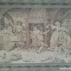 Antigüedades: GOBELINO ANTIGUO -. Lote 97567147