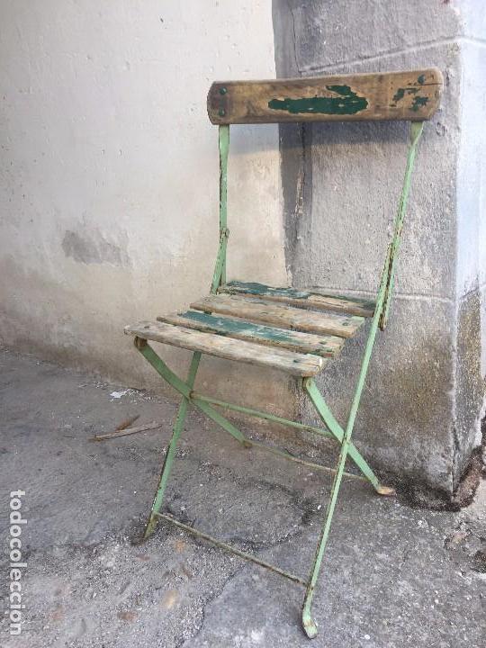 silla cafe terraza jardin exterior plegable hie - Comprar Sillas ...