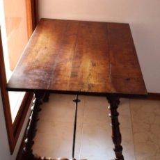 Antigüedades: MESA BUFET MALLORQUINA DEL SIGLO XVII. Lote 97605687