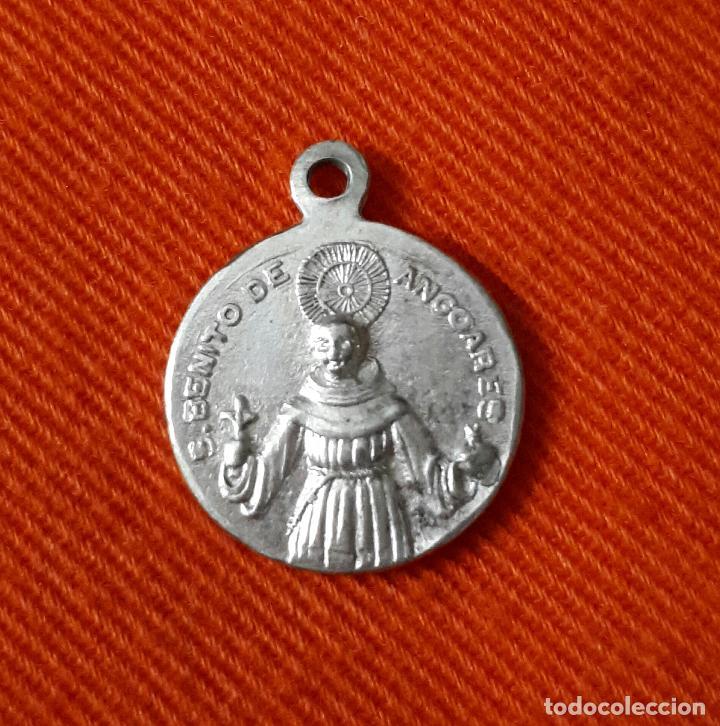 0e7c74771ed ANTIGUA MEDALLA DE SAN BENITO DE PALERMO ANGOARES PONTEVEDRA (Antigüedades  - Religiosas - Medallas Antiguas