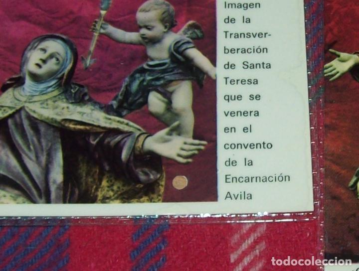 Antigüedades: LOTE DE RELIQUIAS DE SANTA TERESA DE JESÚS. UNA VERDADERA JOYA!!!!!!!!. VER FOTOS - Foto 2 - 97676275