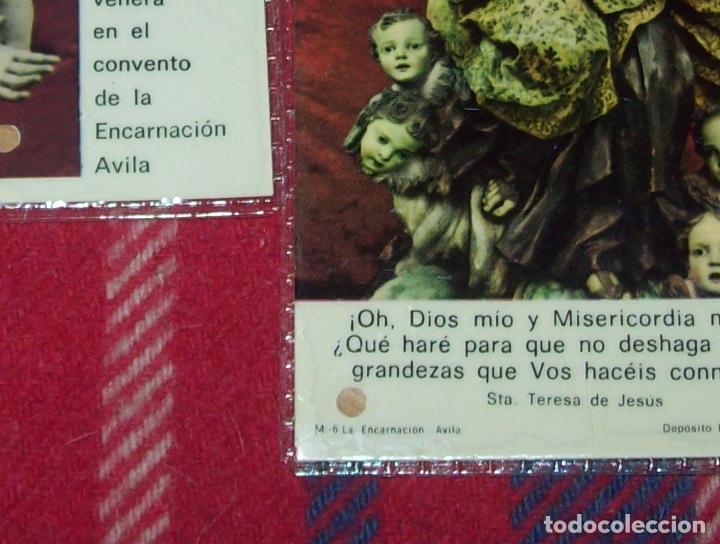 Antigüedades: LOTE DE RELIQUIAS DE SANTA TERESA DE JESÚS. UNA VERDADERA JOYA!!!!!!!!. VER FOTOS - Foto 3 - 97676275