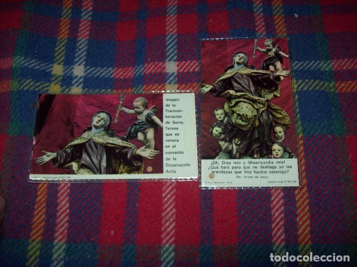 LOTE DE RELIQUIAS DE SANTA TERESA DE JESÚS. UNA VERDADERA JOYA!!!!!!!!. VER FOTOS (Antigüedades - Religiosas - Varios)