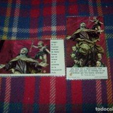 Antigüedades: LOTE DE RELIQUIAS DE SANTA TERESA DE JESÚS. UNA VERDADERA JOYA!!!!!!!!. VER FOTOS. Lote 97676411