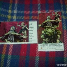 Antigüedades: LOTE DE RELIQUIAS DE SANTA TERESA DE JESÚS. UNA VERDADERA JOYA!!!!!!!!. VER FOTOS. Lote 97676643