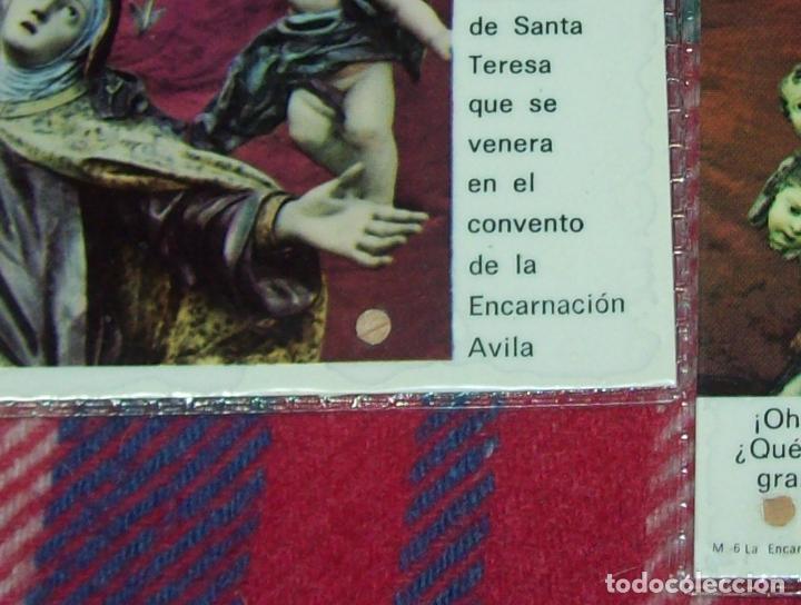 Antigüedades: LOTE DE RELIQUIAS DE SANTA TERESA DE JESÚS. UNA VERDADERA JOYA!!!!!!!!. VER FOTOS - Foto 2 - 97676643