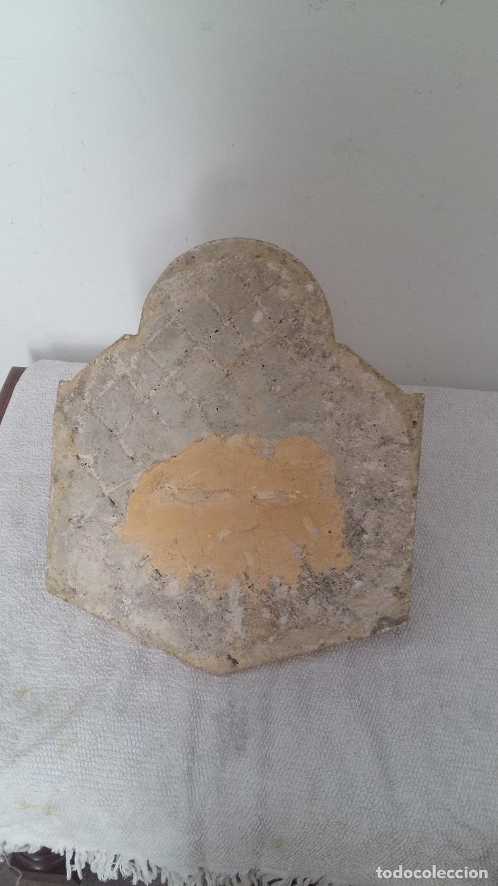 Antigüedades: PILA DE MARMOL, BENDITERA. - Foto 5 - 97681699