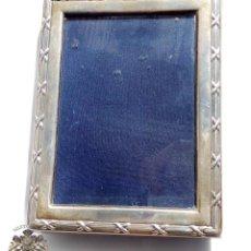 Antigüedades: ANTIGUO MARCO DE PLATA DE LEY - 16 X 12 CM. Lote 97681839