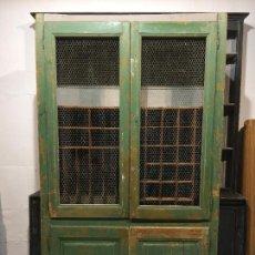 Antigüedades: ANTIGUA GRAN ALACENA ARMARIO DE OFICIOS. Lote 97702975