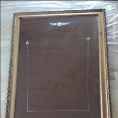 Antigüedades: ANTIGUO MARCO CRISTAL CON DIBUJO. Lote 97718147