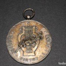 Antigüedades: MEDALLA DE PLATA - PROGRES VIRTUT I AMOR - AÑO 1952. Lote 97767039