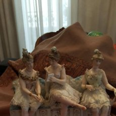 Antigüedades: ESPECTACULAR GRUPO DE PORCELANA ALEMANA. Lote 97782911