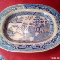Antigüedades: FUENTE. PORCELANA. ELKIN KNIGHT & CO. SIGLO XIX. Lote 97788611