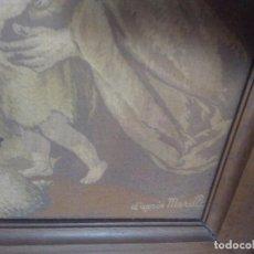 Antigüedades: TAPIZ MURILLO S XIX. Lote 97795179