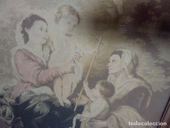 Antigüedades: Tapiz Murillo s XIX - Foto 2 - 97795179