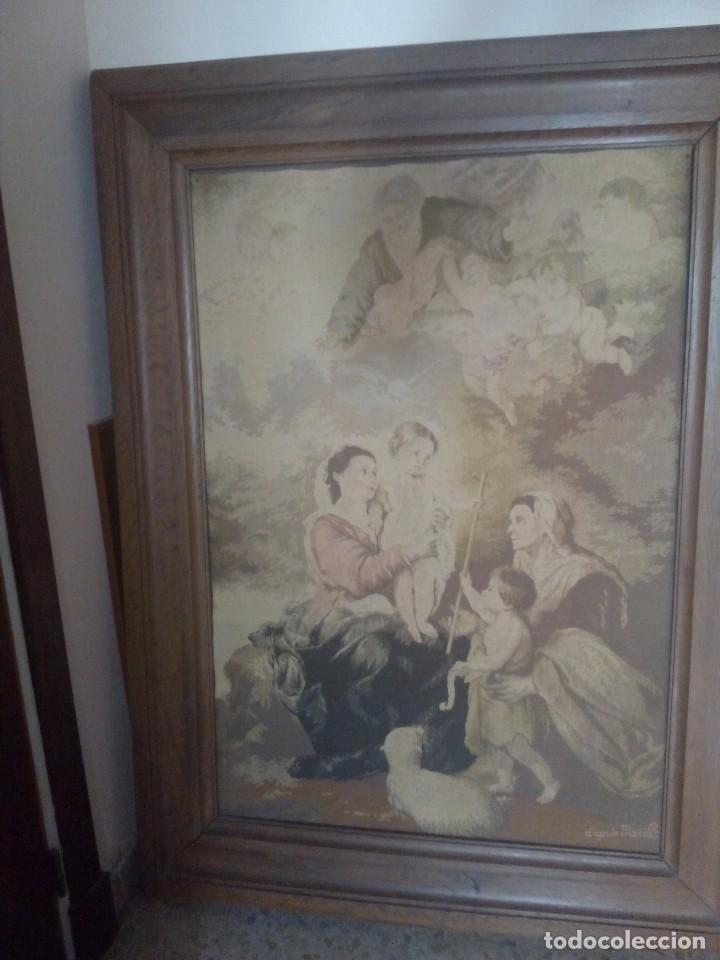 Antigüedades: Tapiz Murillo s XIX - Foto 4 - 97795179