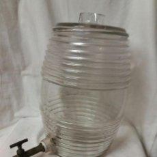 Antigüedades: FRASCA / FRASCO DE PERFUMERIA CON SU GRIFO ORIGINAL - AÑOS 1930. Lote 97842131