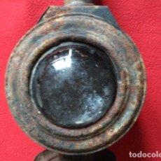 Antigüedades: ANTIGUO FAROL DE CARRO. Lote 97854463