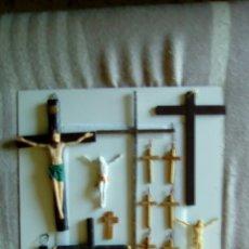 Antigüedades: LOTE DE CRUCES VARIOS MODELOS. Lote 97902707