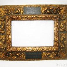 Antigüedades: PRECIOSO MARCO ANTIGUO MADERA CIRCA 1870 IDEAL TABLETA PINTURA FOTO PINTURA OLEO ETC... Lote 143823756