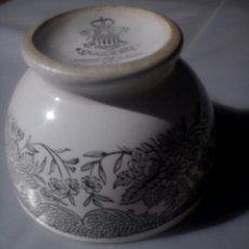 Antigüedades: ANTIGUO TAZÓN DE CERÁMICA GIL VARGAS SEGOVIA. Lote 97926343