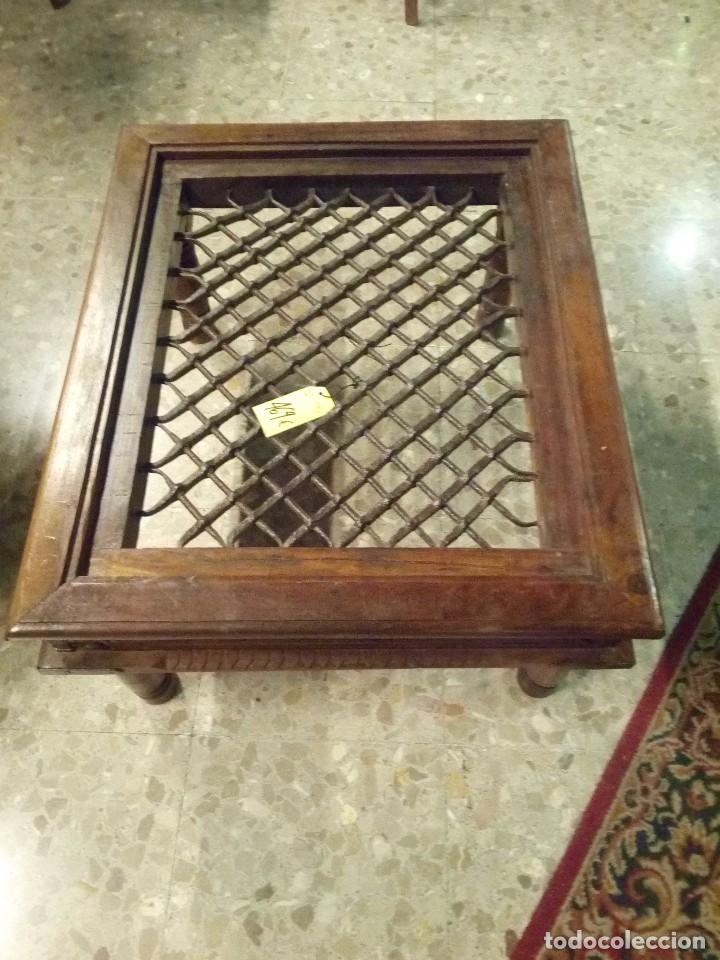Fantastica mesa de centro con reja antigua de v comprar for Mesas de centro antiguas